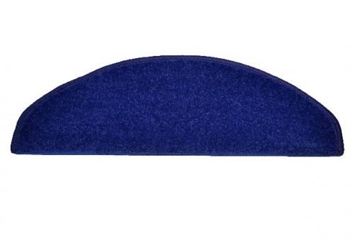 koberec na schody tmavě modrý