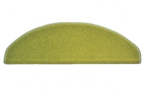 koberec na schody zelený